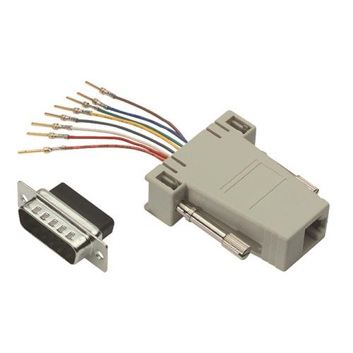 50 X RJ45 to DB15 Male Modular Adapter