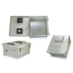 Picture of 18x16x8 Inch 120 VAC Weatherproof Enclosure with Cooling Fan