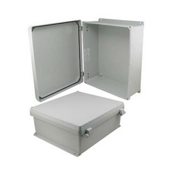Picture of 16x14x6 Inch UL® Listed Weatherproof Industrial NEMA 4X Enclosure Only with Non-Metallic Hinges