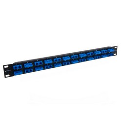 Picture of Rack Panel, 48 SC Couplers Multimode-Bronze Sleeves