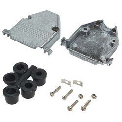 Picture of Assembled D-Sub Hood Kit, DB25/HD44 Metal
