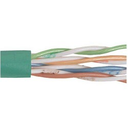 Picture of Category 6 UTP 24 AWG 4-Pair Stranded Conductor Green, 1KFT