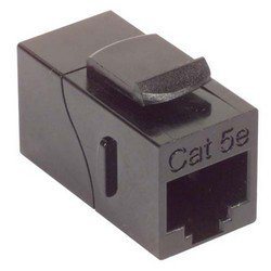 Picture of Cat5e Coupler - Unshielded RJ45 (8x8) Keystone Feed-thru