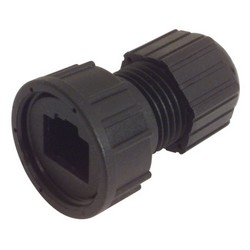 Picture of IP67 RJ45 Strain Relief, Short Body Style