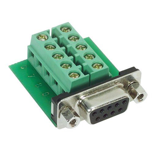 Picture of DB9 Female Connector for Field Termination