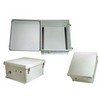 Picture of 18x16x8 Inch Weatherproof NEMA 4X Enclosure-DIN Mounting Rails
