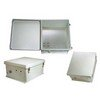 Picture of 18x16x8 Inch Weatherproof NEMA Enclosure with Mounting Plate