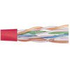 Picture of Category 6 UTP 24 AWG 4-Pair Stranded Conductor Red, 1KFT