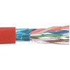 Picture of Category 6 F/UTP PVC 26 AWG 4-Pair Stranded Conductor Red, 1KFT