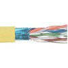 Picture of Category 6 F/UTP PVC 26 AWG 4-Pair Stranded Conductor Yellow, 1KFT