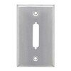 Picture of Stainless Wall Plate, One DB25/HD44 Opening