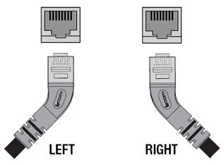 45 Degree Angle Ethernet Cable Orientation Options to Consider