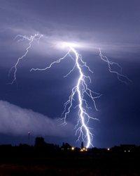 Lightning ;)