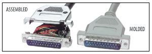 Assembled vs. Molded Cable Assemblies