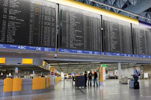 Digital Signage at an airport