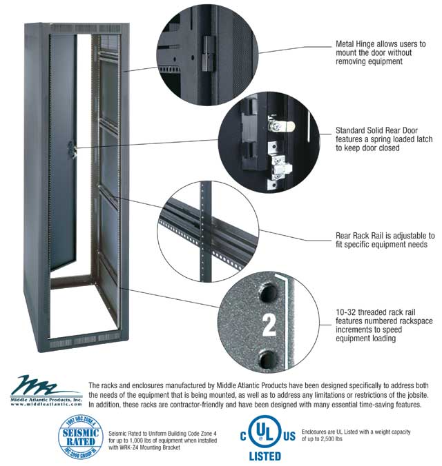 Rack and Enclosure Construction