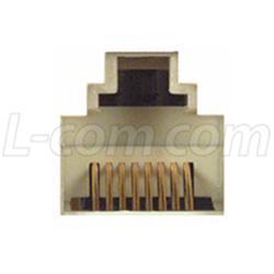 modular adapter db15 male rj45 8x8 jack ra158m db15m rj45 jack