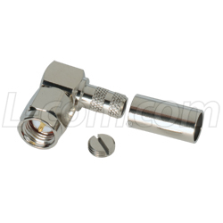 SMA Connector -Male Crimp - Straight and Right Angle